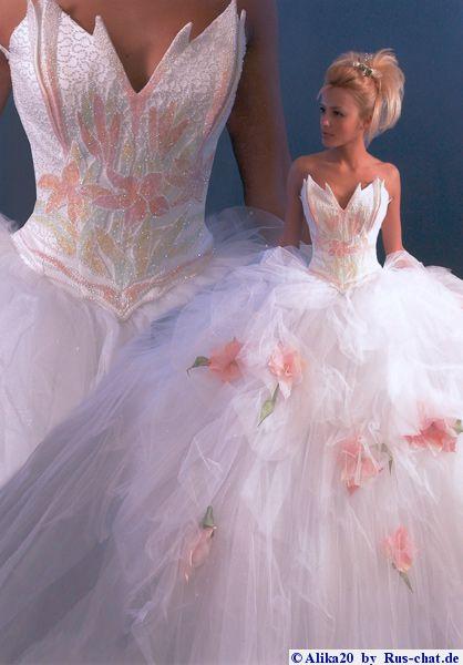 пышные свадебные платья на полных фото