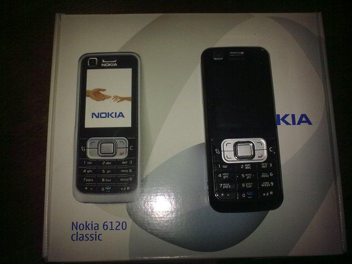 Nokia 6120 classic - классика жанра