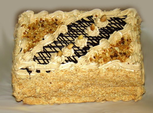 шоколадный бисквитный квадратный торт рецепт с фото-хв6