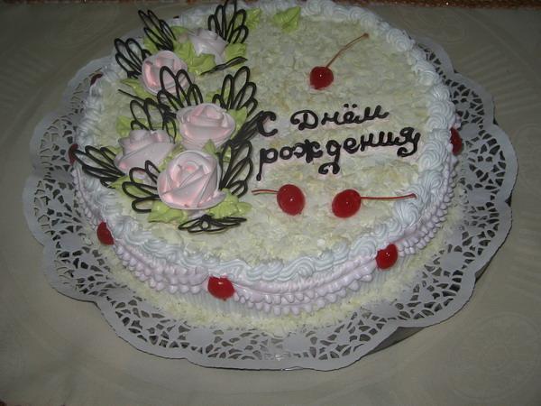 Украшения на торт из крема своими руками видео