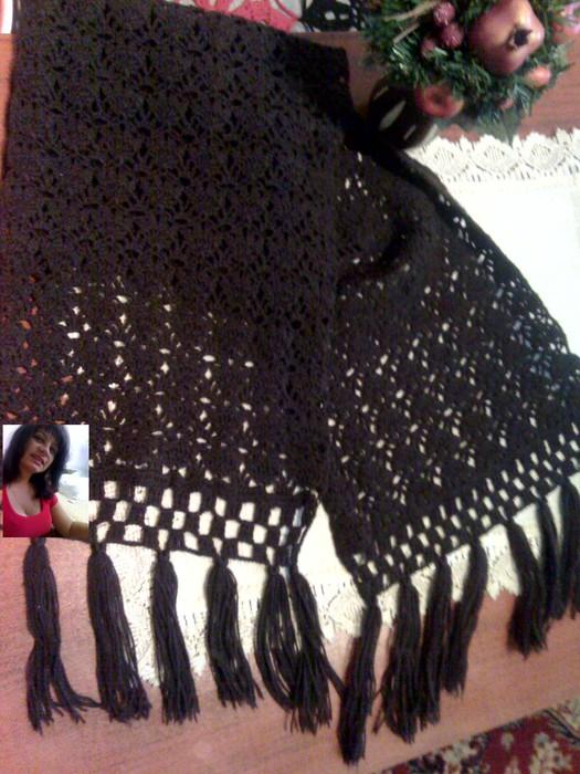 Вязание спицами и крючком, схемы вязания ... шапки, шарфы (213) Вязание...
