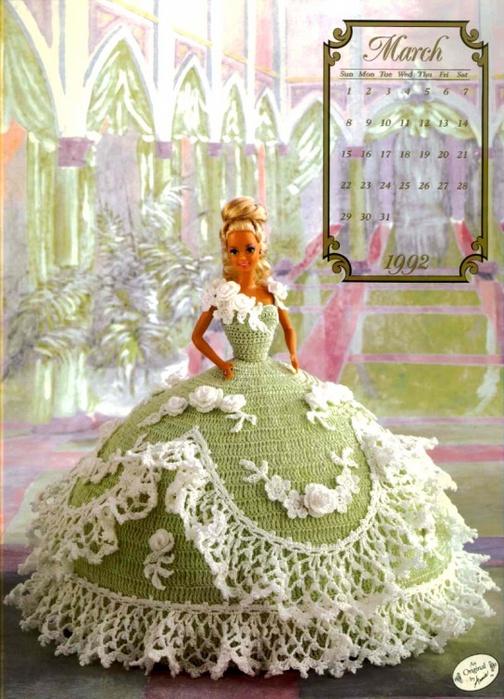 Вязаные Платья Для Барби Схемы