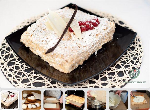 Онлайн фото торты наполеон