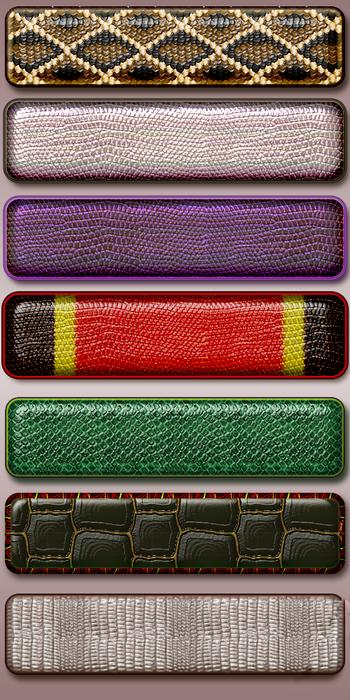 Шикарные стили кожи крокодила змеи и