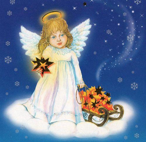 Ангел прикрывает Варвару   Новогодний