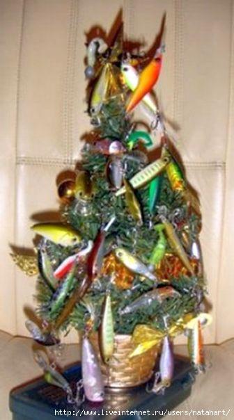 елка для рыбалки