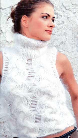 Вязание спицами – схема и