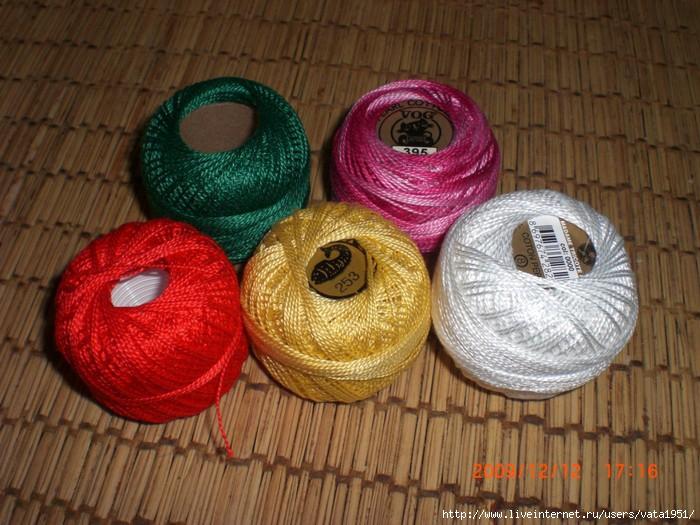 Из чего делают нитки для вязания 77