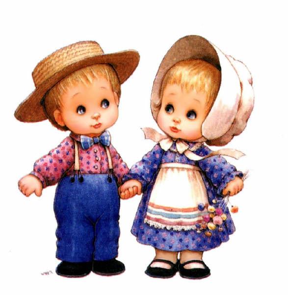 картинки девочка и мальчик держатся за руки