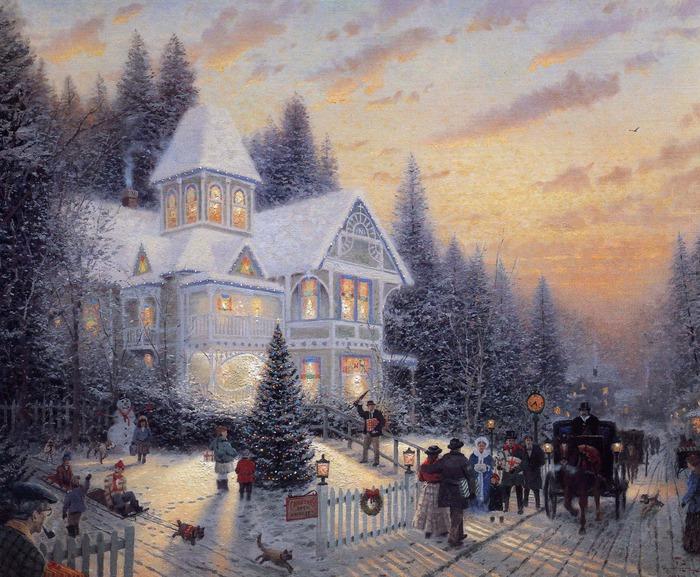 Картины Томаса Кинкейда (67 штук) - Скарамуш.ру - сайт