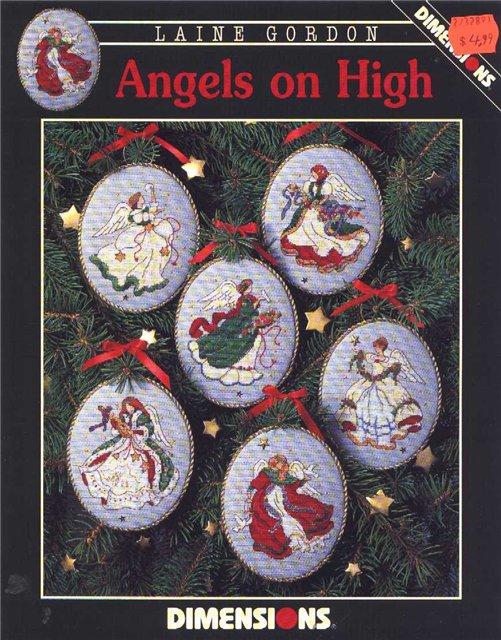вышивка ангелов схемы