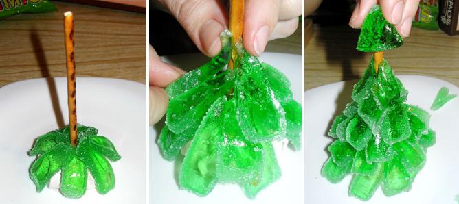 Украшения для елки своими руками в домашних 41