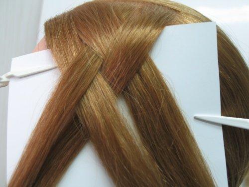 Плетение косы из 4 прядей Шаг 1. Далее перейдем к пошаговой инструкции.