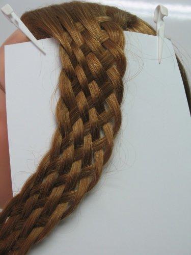 Описание: схемы плетения косичек из волос.