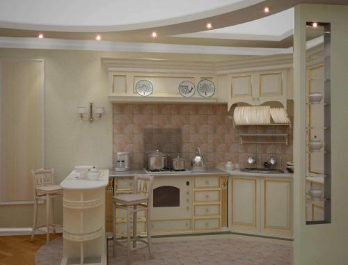 кухни в стиле кантри,кухни Прованс.