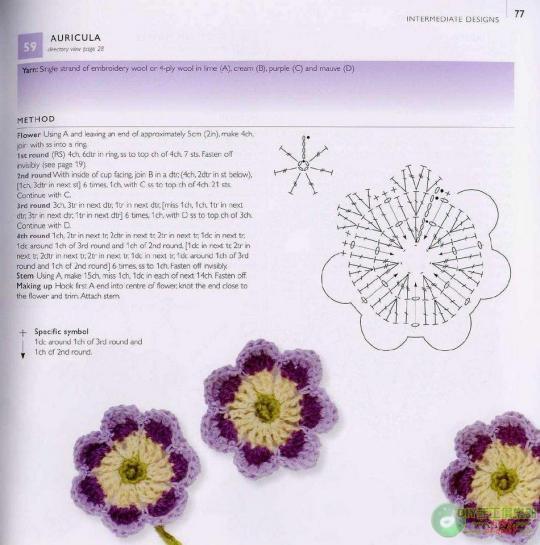 Вязание крючком вязание крючок цветы