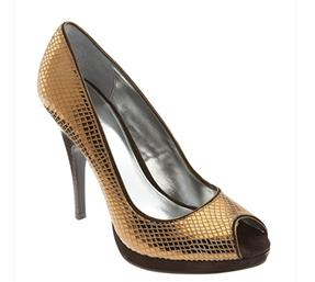 Women Gold Shoes