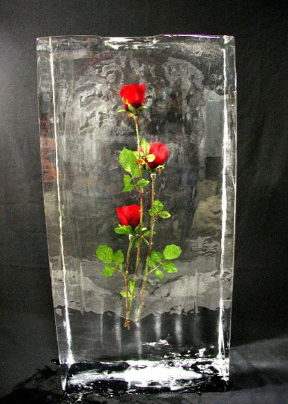 Цветы в льду как сделать