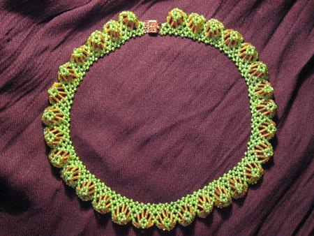 объемные браслеты из бисера