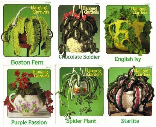 Вязаные цветы - starlite