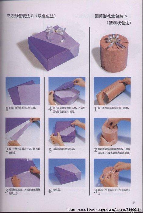 Как упаковать косметику в подарок