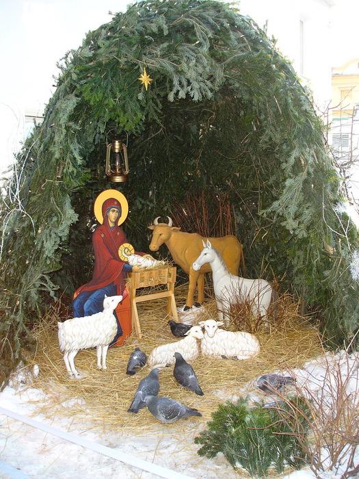 Как сделать рождественская вертеп