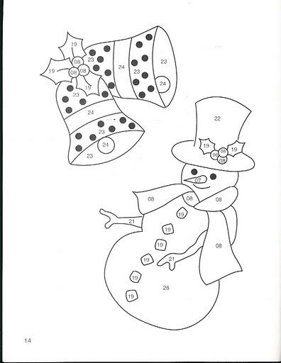 Новогодние снежки своими руками