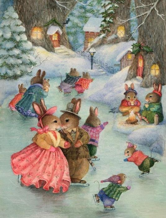 Сказочные кролики от Susan Wheeler.
