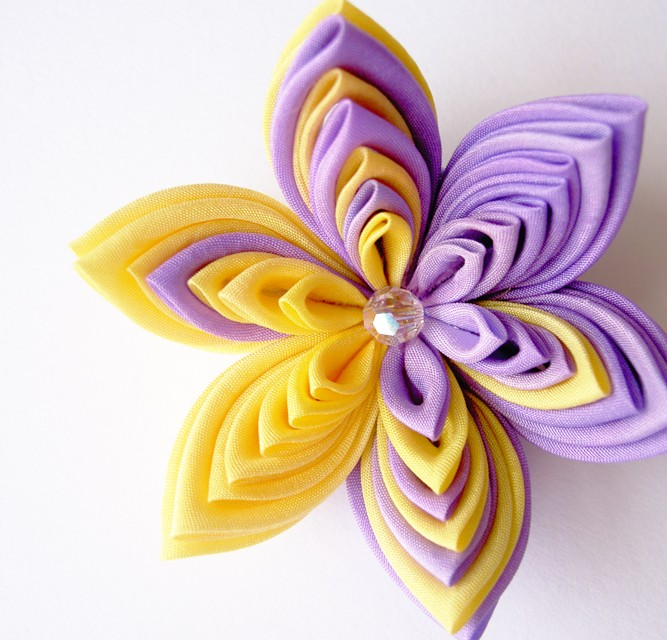 Kanzashi patterns. http://
