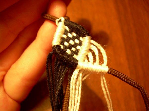 Как понимать схемы фенечек - Делаем фенечки своими руками.