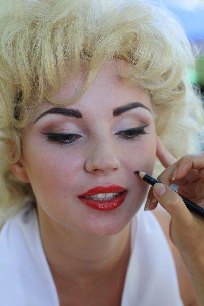 Макияж мерлин монро макияж