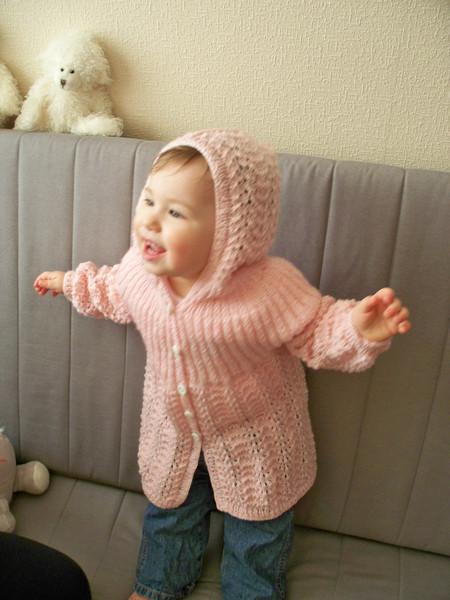 Пальто для девочки Элизабет по