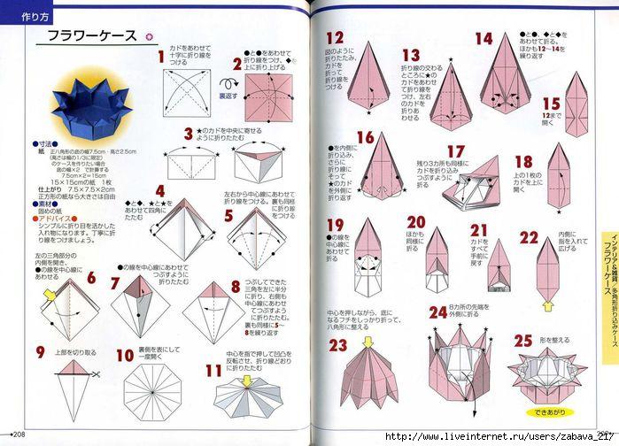 Описание и схемы оригами своими руками
