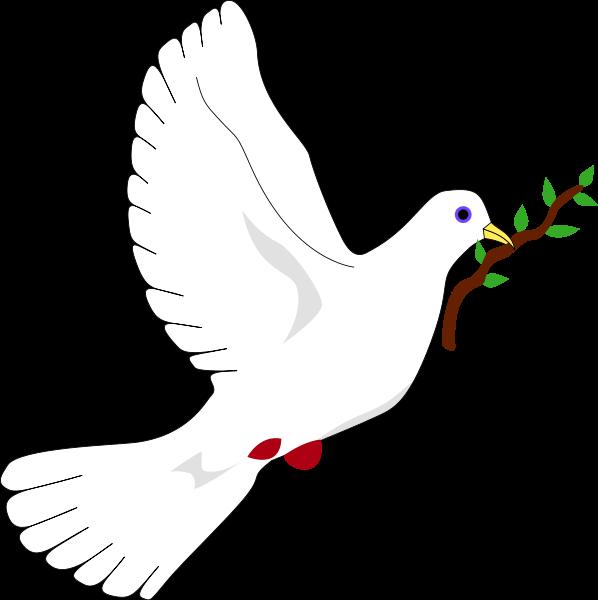 голубь мира + из бумаги