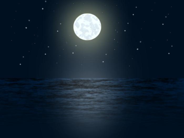 лунная дорожка (700x525, 38Kb)