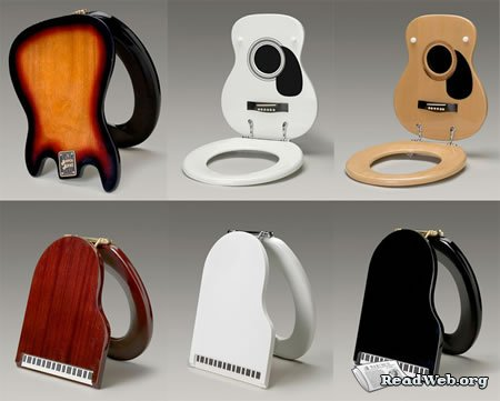 дизайнерские сидения для унитаза