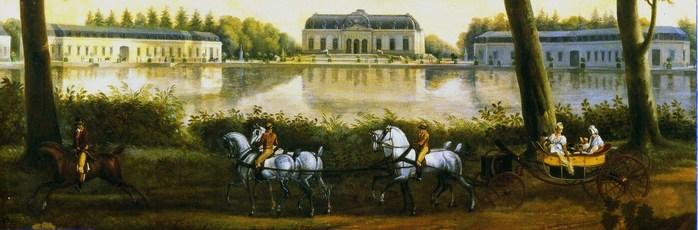 Дюссельдорф. Дворец Бенрат - красивая летняя резиденция курфюрста.