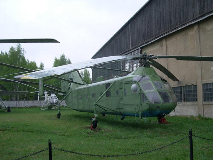 вертолета продольной схемы
