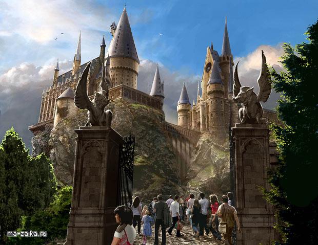 """Таматический парк """"Волшебный мир Гарри Поттера"""""""