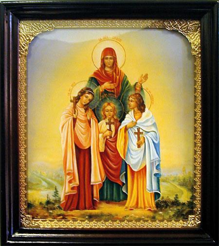 Икона Софья, Вера, Надежда, Любовь (450x506, 74Kb)