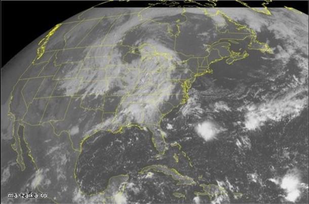 Наводнение в Атланте, США, 21 сентября 2009