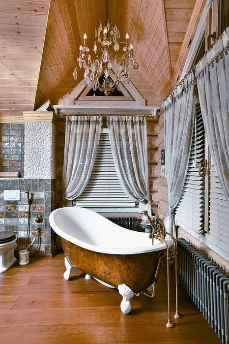 ванная сруб