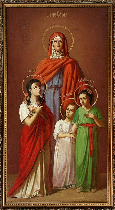 девочек Веры, Надежды и
