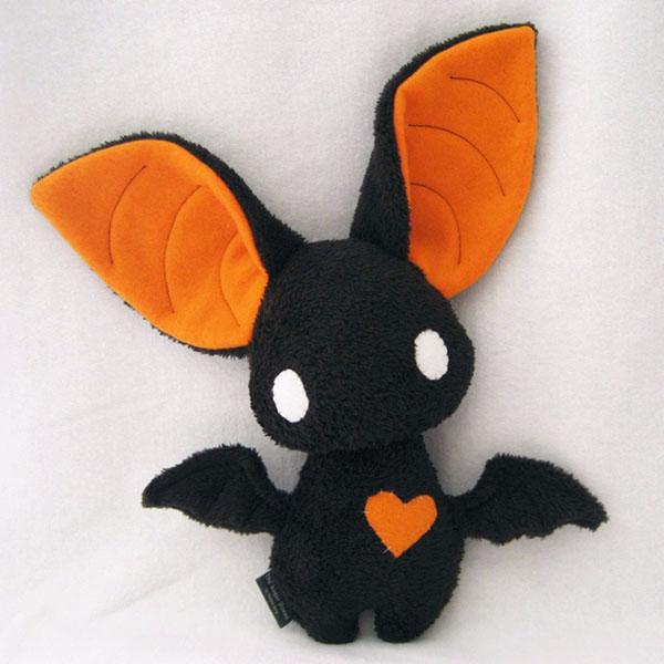 Игрушку летучую мышь своими руками