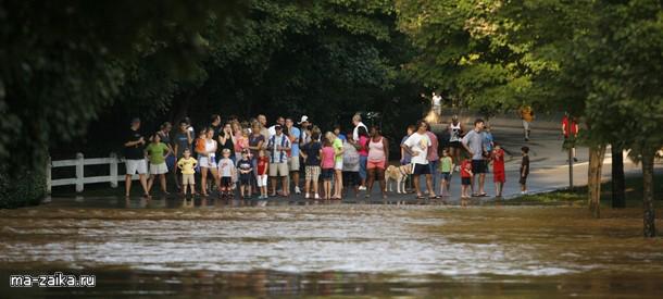 Наводнения в США