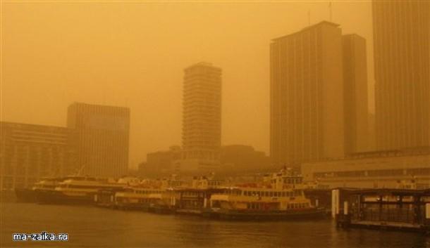 Пыльная буря в Сиднее