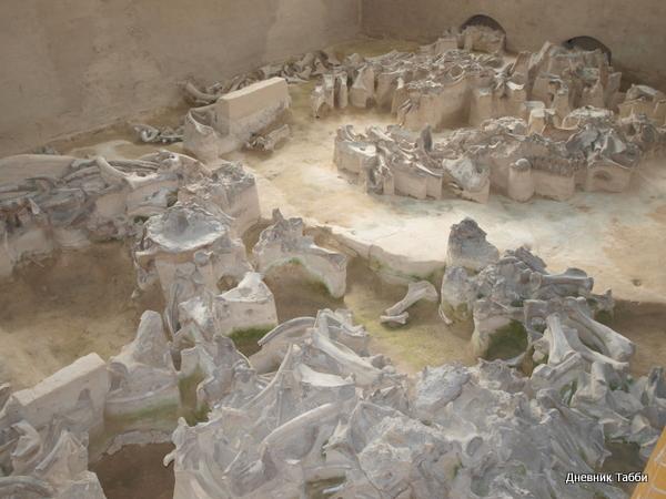 (600x450, 177Kb) Жилища людей каменного века в Людиново