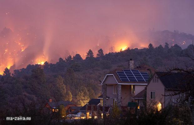 Лесные пожары в Калифорнии, Сан-Бернардино