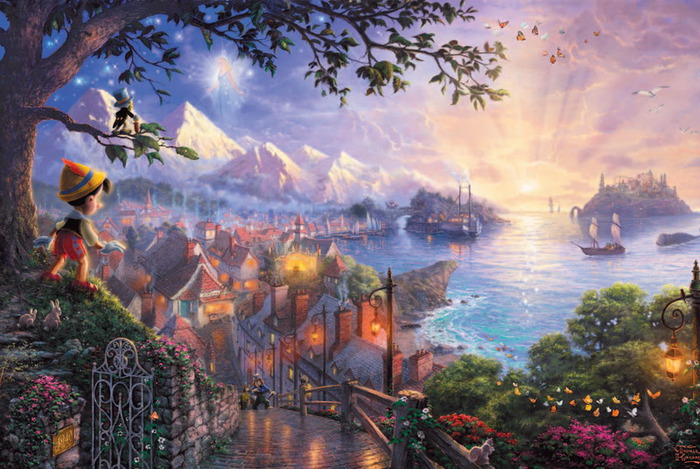 Сказочные картинки - Страница 2 49627197_pinocchiowishesuponastar