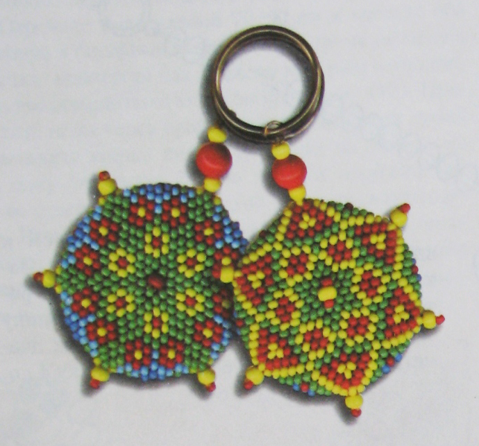 Схема плетения БРЕЛОК ДЛЯ